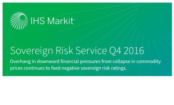 Global Sovereign Risk Snapshot Q4 2016